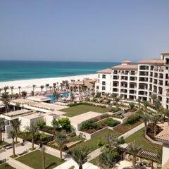 Photo taken at The St. Regis Saadiyat Island Resort by Junaid S. on 9/8/2012