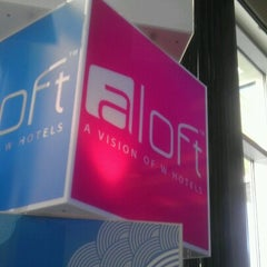 Photo taken at Aloft Austin At The Domain by Teclas S. on 7/21/2012