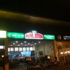 Photo taken at Papa John's Pizza by Natty . on 7/28/2012