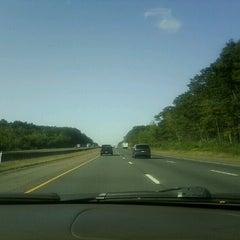 Photo taken at I-84 -- Willington by Ryan S. on 9/13/2012