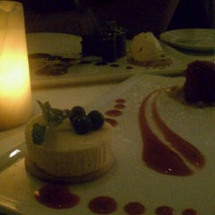 Photo taken at Fraiche Restaurant by Heather F. on 3/3/2012