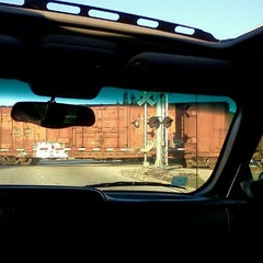 Photo taken at Railroad Tracks At Monterey by Alli C. on 12/30/2011