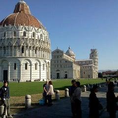 Photo taken at Piazza del Duomo (Piazza dei Miracoli) by Pietro S. on 11/10/2011