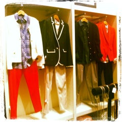 Photo taken at Banana Republic by Rachel on 3/17/2012
