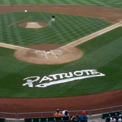 Photo taken at Somerset Patriots Baseball @ TD Bank Ballpark by Anthony E. on 6/30/2012