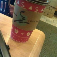 Photo taken at Caribou Coffee by alix c. on 11/10/2011