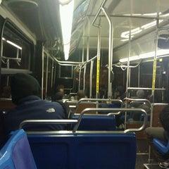 Photo taken at MTA Bus - B61 by Mina V. on 11/7/2011