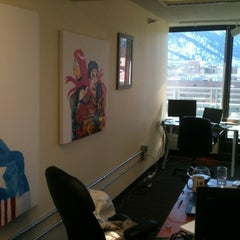 Photo taken at Graphicly HQ by Becky L. on 1/8/2012