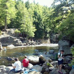 Photo taken at Wilmington Flumes by Rob M. on 8/7/2012