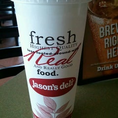 Photo taken at Jason's Deli by Eric H. on 6/2/2012