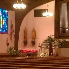 Photo taken at St. Matthew The Apostle  Church by Christine on 1/26/2012