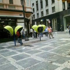 Photo taken at Rua Sete de Abril by Ricardo P. on 1/5/2012