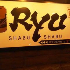 Photo taken at Ryu Shabu-Shabu (ริว ชาบู-ชาบู) by koonchaay P. on 1/6/2012