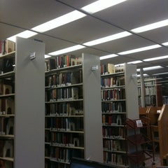 Photo taken at AU – Bender Library by Yaniv N. on 4/27/2011