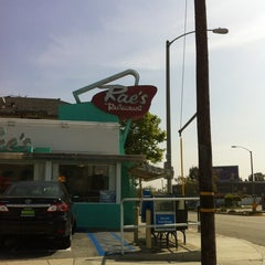 Photo taken at Rae's Diner by Craig B. on 4/19/2012