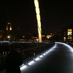 Photo taken at Pedestrian Bridge by Sean H. on 8/5/2012