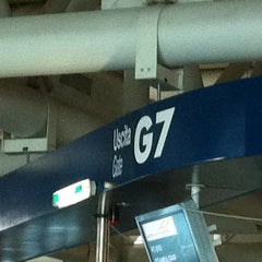 Photo taken at Gate G7 by Marco M. on 10/21/2011