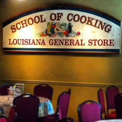 Photo taken at The New Orleans School of Cooking by Zac C. on 6/14/2012