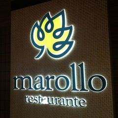 Photo taken at Marollo Restaurante by Gustavo V. on 4/11/2012
