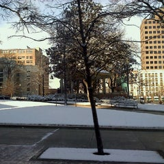 Photo taken at Court Square by Sk8Queen on 1/23/2011