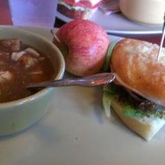 Photo taken at Panera Bread by Sarah D. on 5/9/2012