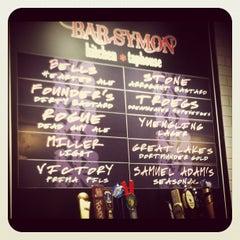 Photo taken at Bar Symon by Amy C. on 9/7/2012