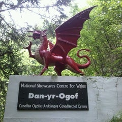 Photo taken at The National Showcaves Centre for Wales by Richard D. on 8/17/2011