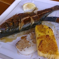 Photo taken at Budaörsi Halpiac - The Fishmonger by Joanelli T. on 8/2/2012
