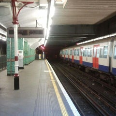 Photo taken at Aldgate London Underground Station by Pino F. on 5/22/2012