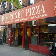 Photo taken at Koronet Pizza by Nelson T. on 5/6/2012