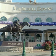 Photo taken at Churchill Downs by Phil N. on 10/25/2011
