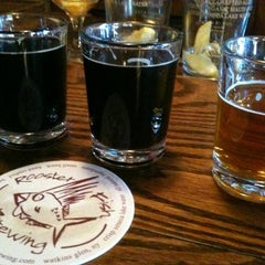 Photo taken at Rooster Fish Brewing by Lynn P. on 4/29/2012