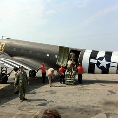 Photo taken at American Airpower Museum by Joe F. on 9/3/2011