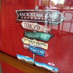 Photo taken at Backstage Cafe by Jon L. on 6/11/2011