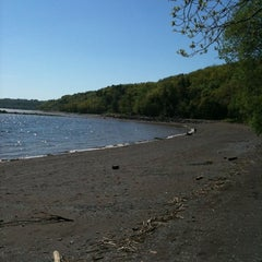 Photo taken at Plage Jacques Cartier by Christian L. on 5/30/2011