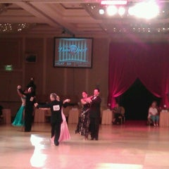 Photo taken at Alexandria Mark Hilton Ballroom by Robertas M. on 8/24/2012
