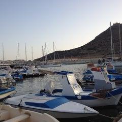 Photo taken at Porto Turistico Marina Di Favignana by Mela Z. on 7/14/2012