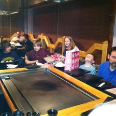 Photo taken at Ichiban Japanese Steakhouse And Sushi Bar by Erika D. on 12/30/2011