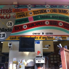 Photo taken at Tito's Tacos by Jason K. on 7/27/2011