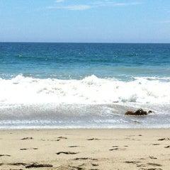 Photo taken at Malibu Public Beach by Paul S. on 7/31/2011