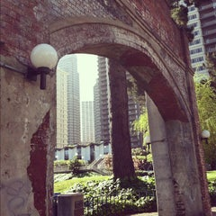 Photo taken at Sydney Walton Park by Kris V. on 4/19/2012