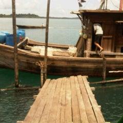 Photo taken at Pelabuhan Rejai by Fauzi F. on 10/25/2011
