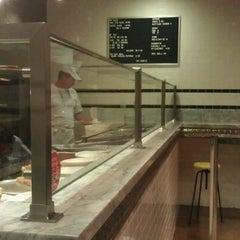 Photo taken at Secret Pizza by Portland Palate on 9/10/2012