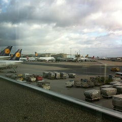Photo taken at Lufthansa Business Lounge A (Schengen) by João M. on 12/29/2011