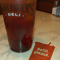 Photo taken at McAlister's Deli by Dee L. on 2/23/2012