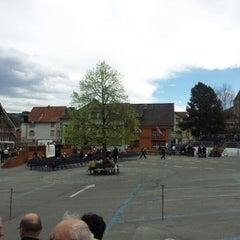 Photo taken at Landsgemeindeplatz by Patrik T. on 4/29/2012