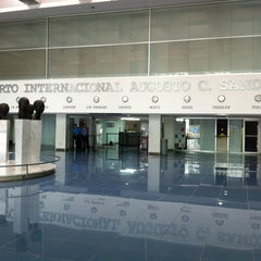 Photo taken at Aeropuerto Internacional Augusto C. Sandino by Ceejay M. on 3/31/2012