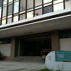 Photo taken at Facultad de Odontología UdeC by Renate F. on 12/15/2011