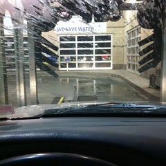 Photo taken at The Glo Car Wash by Samantha J. on 12/21/2011