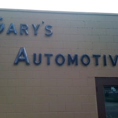 Photo taken at Gary's Automotive by Jonathan M. on 8/11/2011